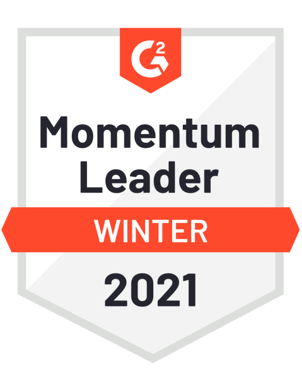 Winter 2021 G2 Momentum Leader